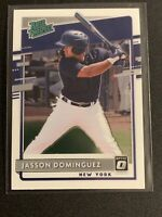 Jasson Dominguez 2020 Donruss Optic Rated Rookie Card RC #RP-11 NY Yankees