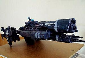 High quality UNSC Halo Super warship Space Battleship 3D Paper model kit