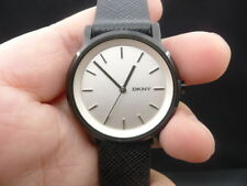 NEW OLD STOCK DKNY SOHO NY2186 LEATHER STRAP QUARTZ WOMEN LADY WATCH