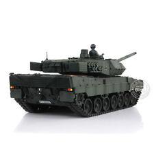 HengLong 1/16 Scale German Leopard2A6 RTR RC Tank Deep Green Metal Tank 3889DG-1