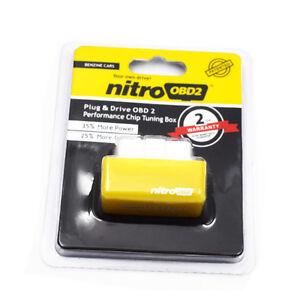 OBD2 Performance Tuning Chip Box Saver Gas/Petrol Vehicles Plug & Drive Device