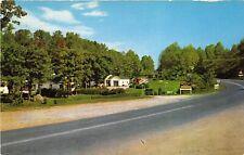 Sutton West Virginia 1960s Postcard Laurel Court Motel