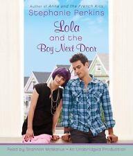 Lola and the Boy Next Door  - Audiobook