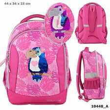 3ec5f348db3eb TOPModel Schulrucksack Pailletten Tukan Tropical pink