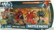 STAR WARS Target Exclus Battle Pack DARTH MAUL RETURNS Savage Opress Nightsister