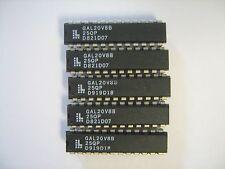 LATTICE GAL20V8B-25QP GAL20V8B IC Integrated Circuit 24-Pin - Lot of 5 NEW!! NOS