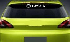 Rear Window Sticker Fits Toyota Logo Premium Qaulity Decals RL105