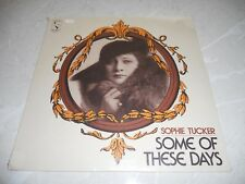"Sophie Tucker ""Some Of These Days"" LP Sealed Pop US Pelican LP133 M"