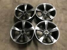 "19"" TTRS Rotor DEEP CONCAVE Style Wheels Satin Gun Metal Audi A5 A7 S7 5x112"