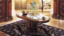 TABLE BASSE CLASSIQUE meubles de style d'Italie noyer Haute Brillance