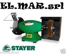 Smerigliatrice - Mola da Banco STAYER EB 150 M 250 W diam 150 mm