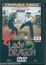 Lady Dragon (1992) DVD NUOVO SIGILLATO Cynthia Rothrock. Richard Norton. R Ginty
