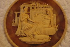 Antony and Cleopatra Incolay Ca Collector Plate, Great Romances of History[?]