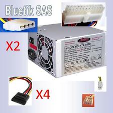 Alimentation pour PC BUREAU 480W max ATX - 4 Sata - 2 Molex -  ADVANCE 480 W