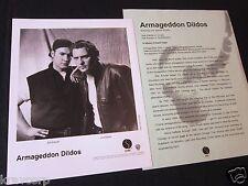 ARMAGEDDON DILDOS 'LOST' 1994 PRESS KIT--PHOTO
