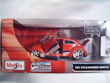 Maisto ~ Custom Shop ~ Volkswagen Beetle  ~  1:24 ~Cool