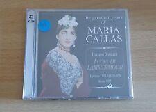 MARIA CALLAS - GAETANO DONIZETTI - LUCIA DI LAMMERMOOR - 2 CD SIGILLATI (SEALED)