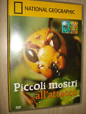 DVD N° 21 NATIONAL GEOGRAPHIC PICCOLI MOSTRI ALL'ATTACCO