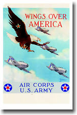 Wings Over America - Air Corps U.S. Army - Poster