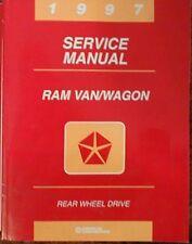 1997 Dodge Ram Van Wagon Shop Service Manual 97