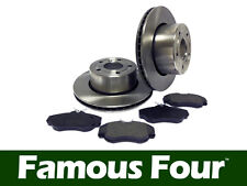 Land Rover Discovery 2 TD5/V8 1998-2004 Vented Front Brake Disc/Pad Set FF007974