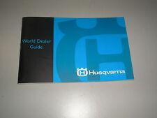 2003 Husqvarna Motorcycle WORLD DEALER GUIDE 125 250 450 510 610 88 Pages Husky