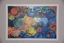 Bild - Ernst Wilhelm Nay - Stella chromatisch 1995 - Kunstdruck + Rahmen