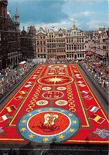 BR4076 Grand Place Tapis de Fleurs Bruxelles    belgium