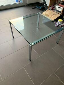 Original Designer Glastisch, Hersteller: Walter Knoll, Modell: Foster 500-T1