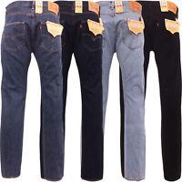 Mens Levi's 501 Jean Standard Fit Original Levi Strauss New All Sizes