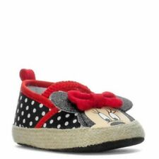 Nwt~Disney Baby~Minnie Mouse Espadrille Ears~Crib Shoes~Baby Girl~3-6 Months~New