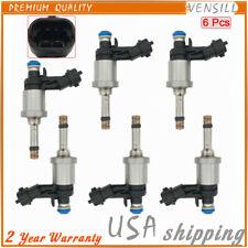 12638530 6 Pcs Fuel Injector For Chevrolet Camaro Cadillac GMC Acadia 3.6L 08-11