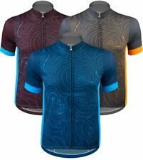 Aero Tech Sprint Jersey - Topo - Elevation Map Cycling Jersey - 3 Colors