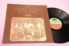 CROSBY STILLS NASH YOUNG LP DEJA VU ITALY 1975 NM ! GATEFOLD COVER
