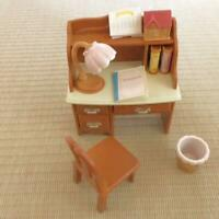 Sylvanian Families Desk Chair, Dressing Table Set Vintage Calico Critters Epoch