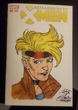 Extraordinary X-Men Philip McNulty Dazzler Original Blank Cover Color Sketch