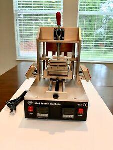 5 in1 VACUUM LCD SEPARATOR FRAME LAMINATOR GLUE REMOVER PREHEATER REPAIR MACHINE