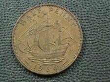 Grande-Bretagne 1/2 Penny 1966 XF