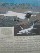 5/1991 ARTICLE 3 PAGES AIR NEW ZEALAND AIRLINES ANSETT BOEING 737 BAE 146