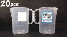 20x 1.5 Liter Graduated Measuring Jug Plastic Clear Measuring Cup Jug MJUG