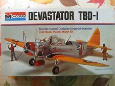 VINTAGE MONOGRAM 1/48 DOUGLAS TBD-1 DEVASTATOR    #7575 factory sealed