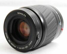 MINOLTA AF ZOOM 80-200㎜ f/4.5-5.6 Camera Lens SN14103258 From Japan