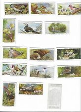 Players cigarette cards - 1937 Birds & their Young 1st series complete set of 25