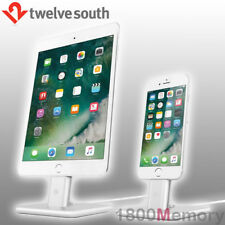 GENUINE Twelve South HiRise 2 Charging Stand Dock Silver for Apple iPhone iPad