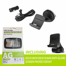 TomTom Click & GO Mount Charger + Screen Protector Kit GO 6100 610  9UUB.001.28