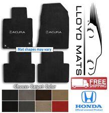 Acura Vehicles 4pc Classic Loop Carpet Floor Mat Set - Choose Color & Logo