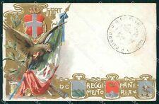 Militari Reggimentali 60º Reggimento Fanteria cartolina XF5172