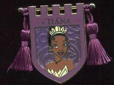 NEW Princess Tapestry Tiana Banner Tassel Disney Pin