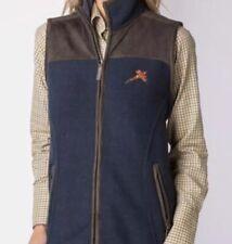 Ladies SIZE 10 RYDALE Garton II NAVY Fleece Gilet Pheasant Motif ⚡️BRAND NEW ⚡️