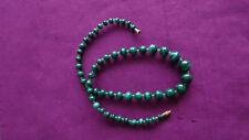 Halskette Malachit Halbedelsteine Länge 52cm